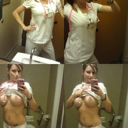 Krankenschwester auf Tinder