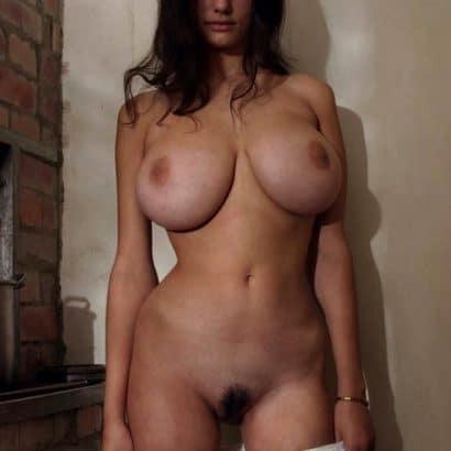 Frauen nackt mit Haaren