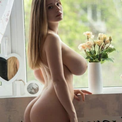 Girl des Tages Riesen Titten