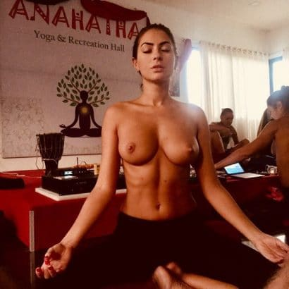 Yoga Erotische Fotos
