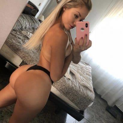 Blonde Amateure nackt
