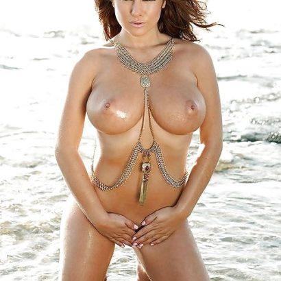 Geile Nacktbilder im Meer