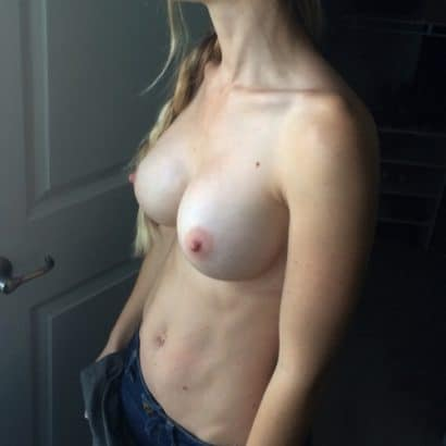 Silikon Titten auf Tinder