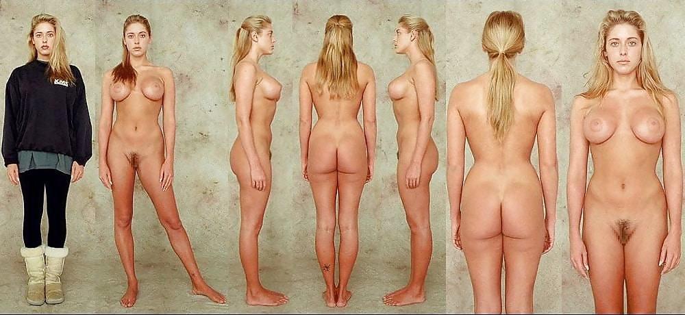 Bbw nackt und angezogen
