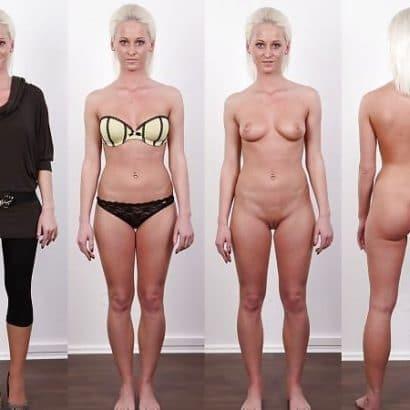 Nackt und angezogen geile Titten