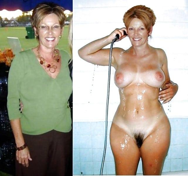 Oma nackt und geil