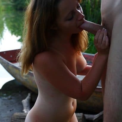Amateur Paare Outdoor Blowjob