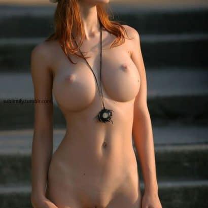 Rothaarige Frauen nackt