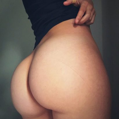 Sexy Frauen nackter Po