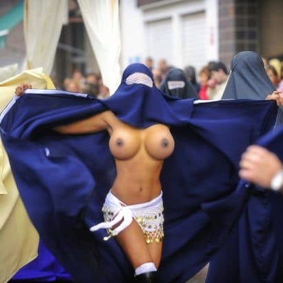 Sexy Girls in Burka