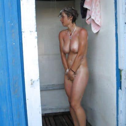 schöne Frauen nackt erwischt