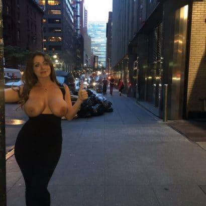 Frauen Pics in der Stadt
