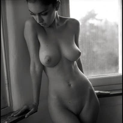 schwarz weiß Fotos von Frauen