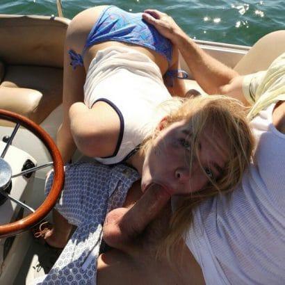 Sexfotos auf dem Boot