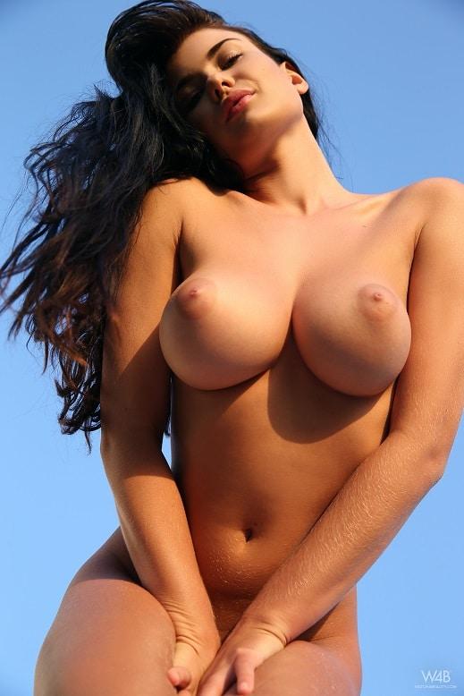 Perfekte Nackte Brüste