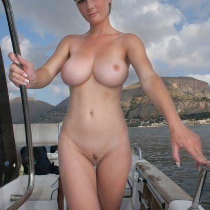 Erotische Bilder auf dem Schiff