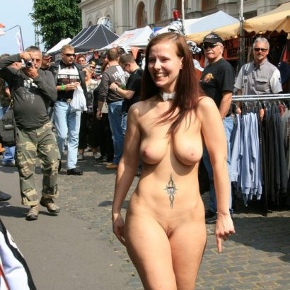 Erotische Bilder in der Öffentlichkeit