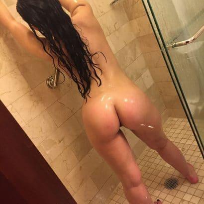 Nackte Ärsche in der Dusche
