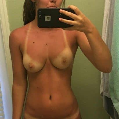 Private Nacktbilder nach der Sonne