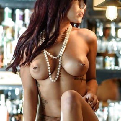 Amateur Bilder auf der Bar