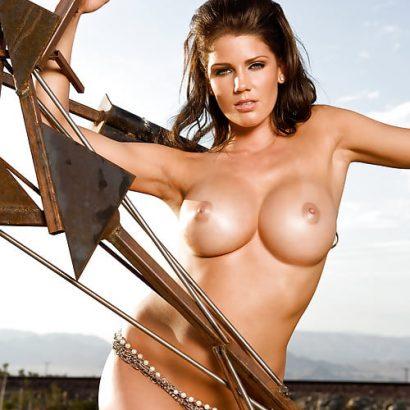 Süße Nacktaufnahmen