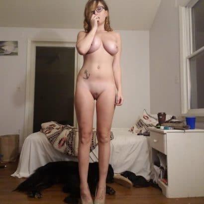 Schlafzimmer Nacktheit