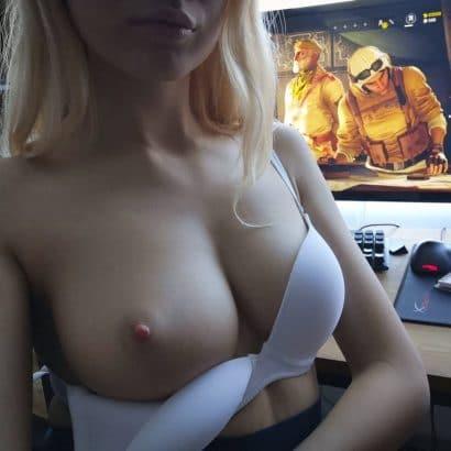 Selfie nackt am PC