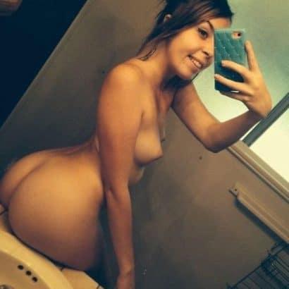 Meine Frau nackt Selfie
