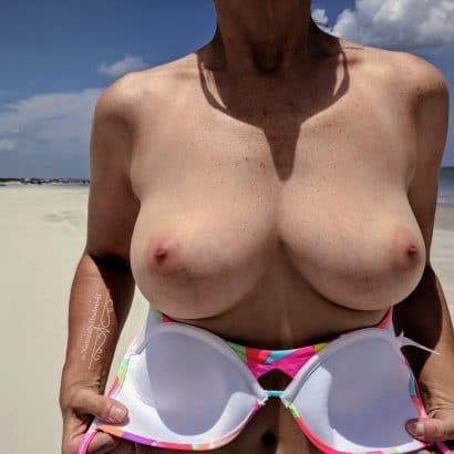 Private Bilder am Strand