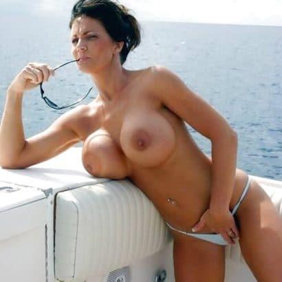 Private Nacktbilder auf dem Boot